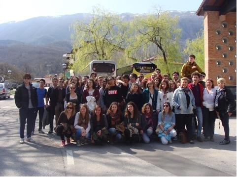 Studenti di Trieste e di Parigi a Caporetto