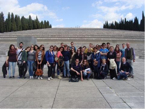 Studenti di Trieste, Colonia e Gemona a Redipuglia