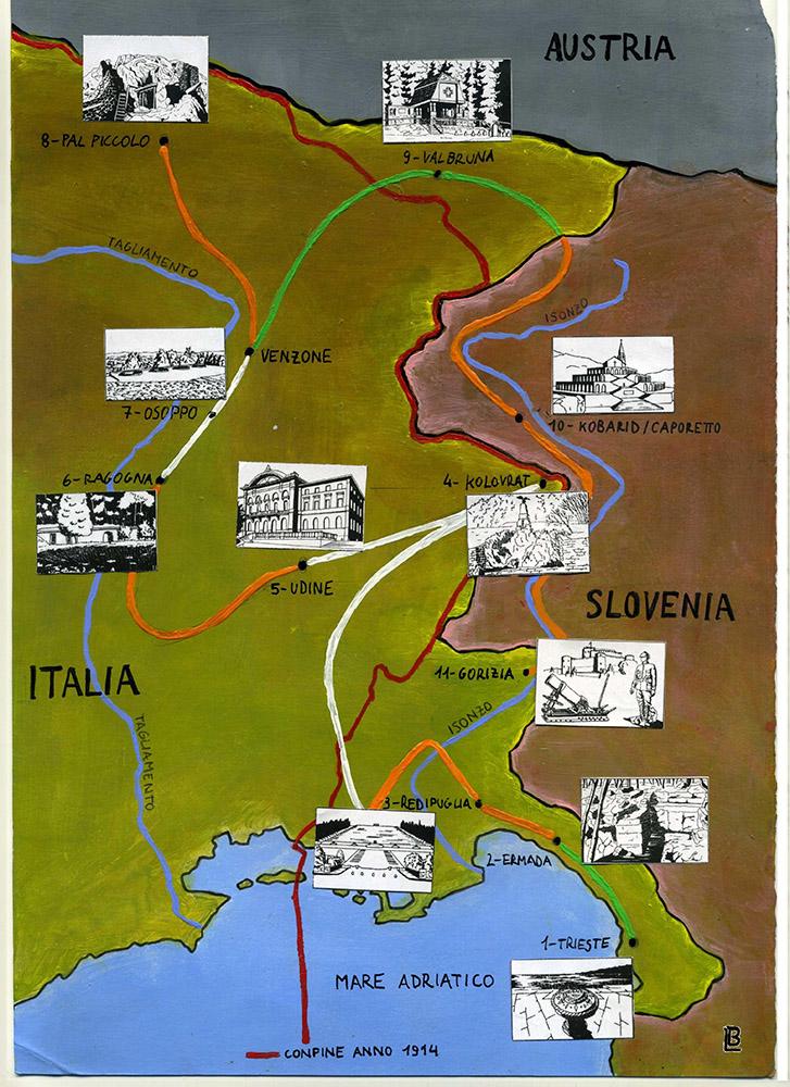 mappa generale